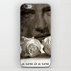 ROSE - vintage version iPhone & iPod Skin