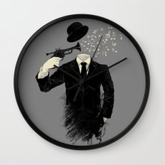 Blown Wall Clock