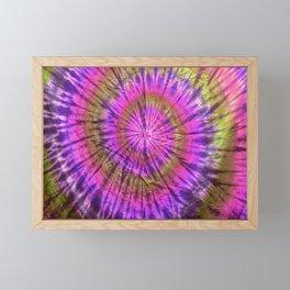 Tie Dye 23 Framed Mini Art Print