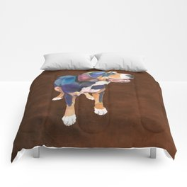 Greater Swiss Mountain Dog Comforters
