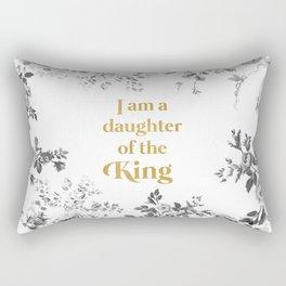 Daughter of the King Rectangular Pillow
