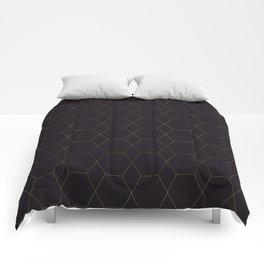 Golden Hive Comforters