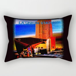 Within Union Station LA (The Dark Side of Art) by Jeronimo Rubio Photography 2016 Rectangular Pillow