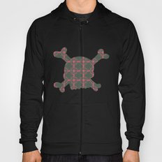 pattern with skull Hoody