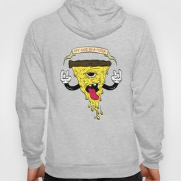 My God Is A Pizza Hoody