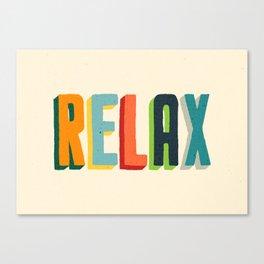 Relax Leinwanddruck