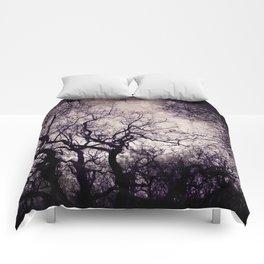 winter trees Comforters