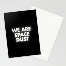 We are space dust Stationery Cards