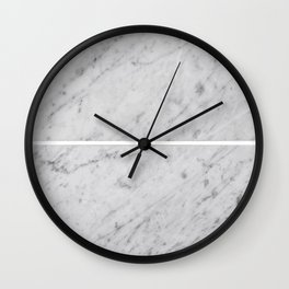 Gray Slabs of Granite Wall Clock