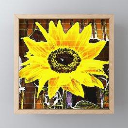 Sunflower Love Framed Mini Art Print