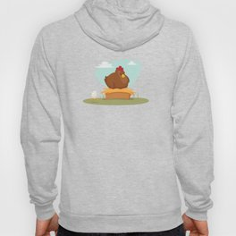 Hen and chick Hoody