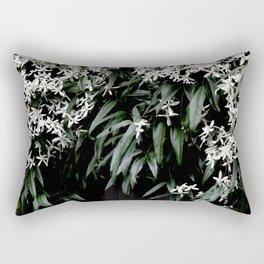 Clematis Armandii Rectangular Pillow