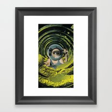 Close Inspection Framed Art Print