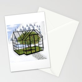 Green House Series - Orangery Stationery Cards