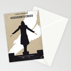 No798 My Assassins Creed minimal movie poster Stationery Cards