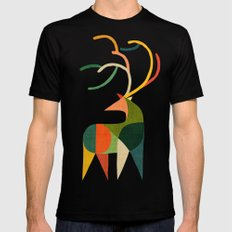Antler Black LARGE Mens Fitted Tee