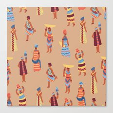 Nigerian Girls Canvas Print