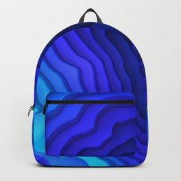 Abstract Deep Sea Surface Backpack