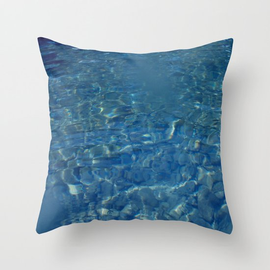 SEA PATTERN Throw Pillow