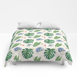 Tropical Blue Comforters
