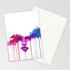 Colors of the night Stationery Cards