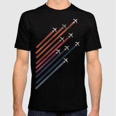 Aerial acrobat Black MEDIUM Mens Fitted Tee