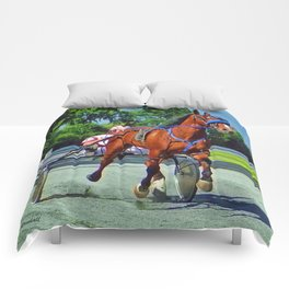 The Backstretch Comforters