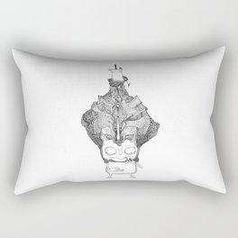 Stevie the Great Thinker Rectangular Pillow