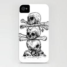 Skull Totem iPhone (4, 4s) Slim Case
