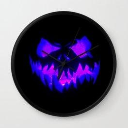 Blue Demon Nightmare Wall Clock