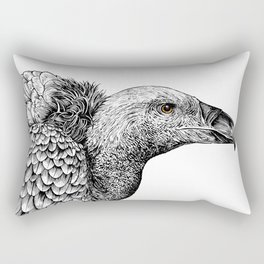 White-backed Vulture Rectangular Pillow