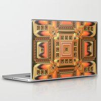blanket Laptop & iPad Skins featuring Cozy Blanket by Lyle Hatch