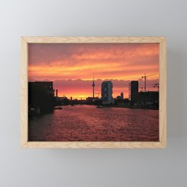 Spree Sunset II Framed Mini Art Print