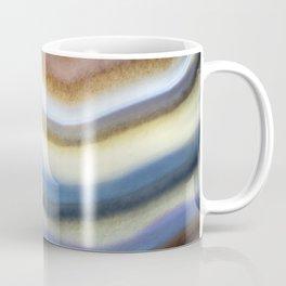 Colorful layered agate 2075 Coffee Mug