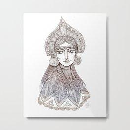 Theodora Metal Print