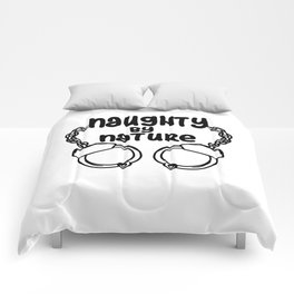 naughty by nature Handcuffs Comforters