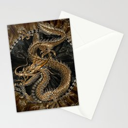 Dragon Pentagram Stationery Cards