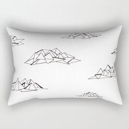 Les nuages Rectangular Pillow