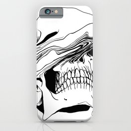 Skull (Liquify) iPhone Case