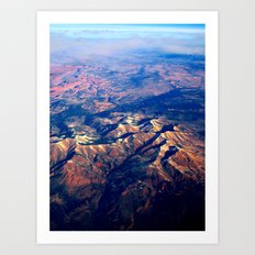 Rocky Mountains Art Print