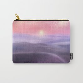 Minimal abstract landscape III Carry-All Pouch