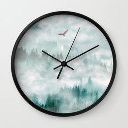 Himalayan soaring Wall Clock