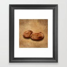 Still Life: Potatoes Framed Art Print