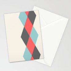 Weaving Diamonds Stationery Cards