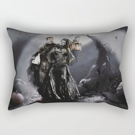 Halloween Outlaw Queen Rectangular Pillow