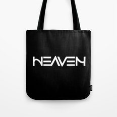 Heaven - Ambigram series (Black) Tote Bag