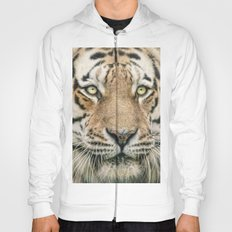 Portrait of a Siberian Tiger Hoody