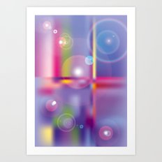 Frosted Glass  Art Print