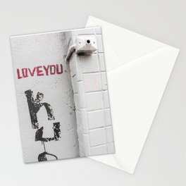 LOVE YOU ... 2 Stationery Cards