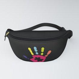 Choose Kind Colorfull Hand design Autism Awareness Fanny Pack